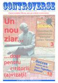 Ziarul CONTROVERSE – ediția nr. 1 (octombrie 2016)