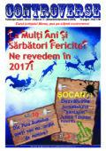 Ziarul CONTROVERSE – ediția nr 2 (noiembrie-decembrie 2016)